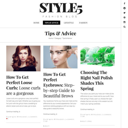 Tips & Advice